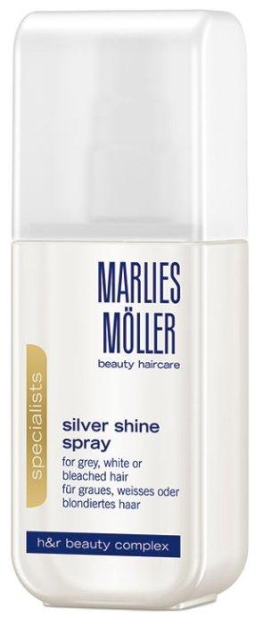 Marlies Moller Specialist Silver Shine Spray Кондиционер-спрей для блондинок для устранения желтизны волос