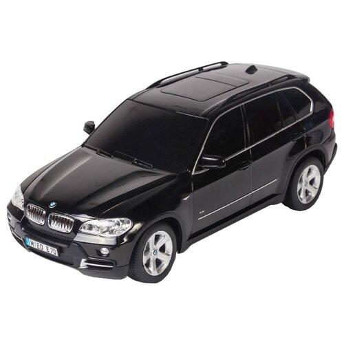 Купить Легковой автомобиль Rastar BMW X5 (23100) 1:18 27.5 см черный, Радиоуправляемые игрушки
