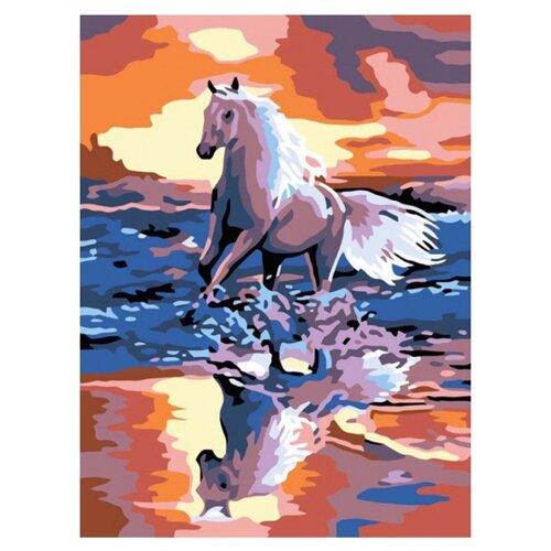 Купить Белоснежка Картина по номерам Стремительный бег 30х40 см (021-CE), Картины по номерам и контурам