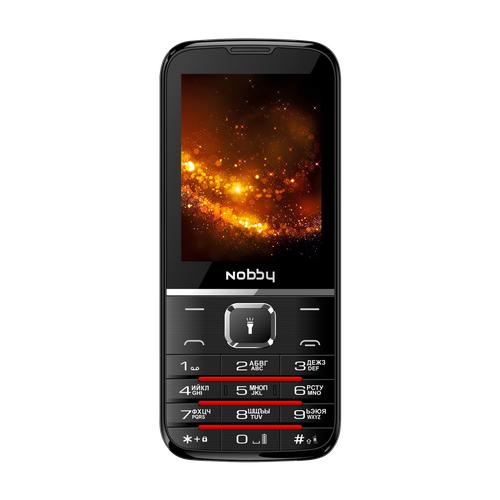 Телефон Nobby 310 черный / серый
