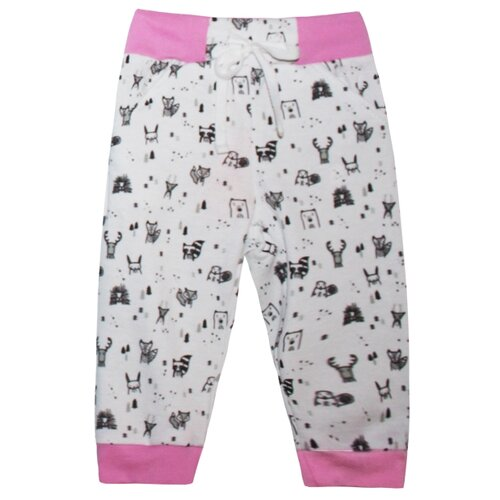 Брюки KotMarKot размер 92, розовыйБрюки и шорты<br>