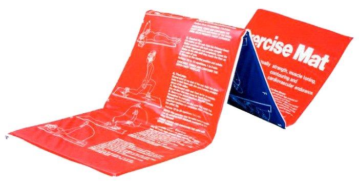 Мат гимнастический LITE WEIGHTS Z-sport 180*60*2,5см, красный/синий