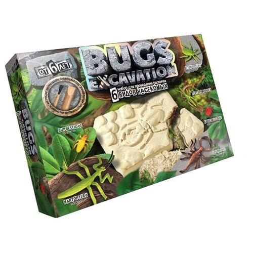 Купить Набор для раскопок Danko Toys Bugs Excavation Насекомые № 4, Наборы для исследований