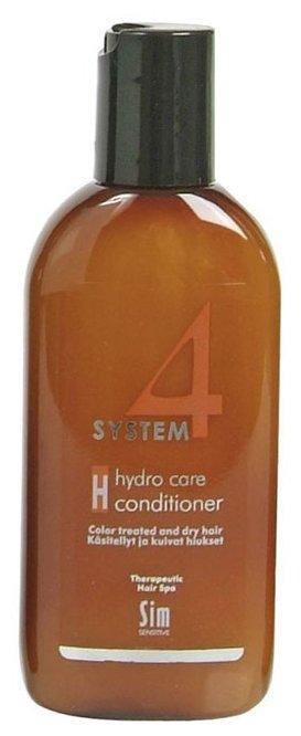 Sim Sensitive SYSTEM 4 Hydro Care Conditioner Н Терапевтический бальзам для нормальных, сухих и поврежденных окрашиванием волос, 100 мл
