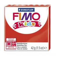 Полимерная глина FIMO kids 42 г красный (8030-2)