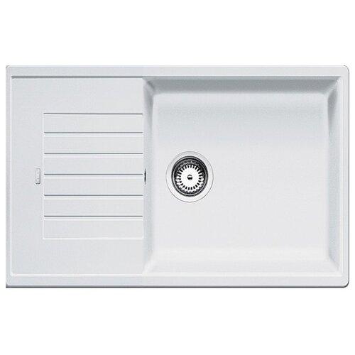 Врезная кухонная мойка 78 см Blanco Zia XL 6 S Compact белый кухонная мойка blanco zia xl 6 s compact жемчужный 523276