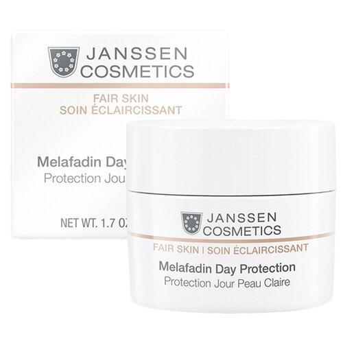 Купить Janssen Cosmetics Fair Skin Melafadin Day Protection Осветляющий дневной крем для лица, шеи и области декольте SPF 20, 50 мл