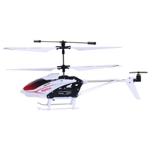 Вертолет Syma гражданский (S5) 23 см белый/красный syma x8sw d