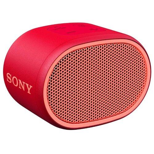 Портативная акустика Sony SRS-XB01 красный портативная акустическая система sony srs xb01 l lightblue