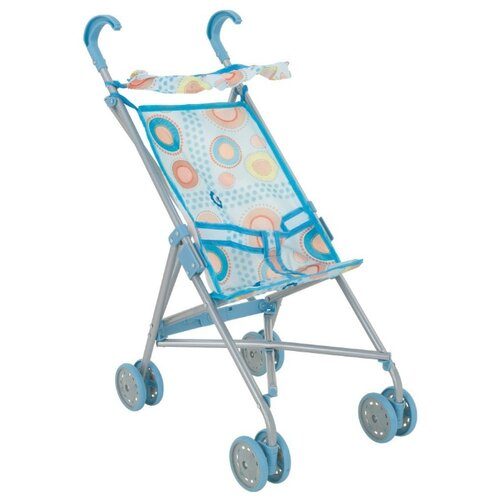 Прогулочная коляска Buggy Boom Mixy 8004 голубой/круги buggy boom коляска для кукол buggy boom infinia трансформер салатовая