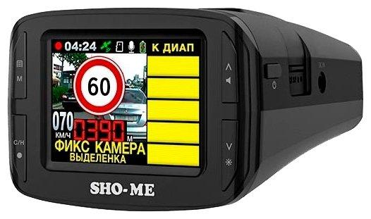 Видеорегистратор с радар-детектором SHO-ME Combo №3 iCatch--