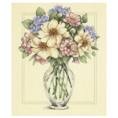 Купить Dimensions Набор для вышивания Flowers in Tall Vase (Цветы в высокой вазе) 30 х 36 см (35228), Наборы для вышивания