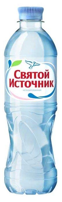 источник Вода питьевая Святой Источник негазированная, ПЭТ