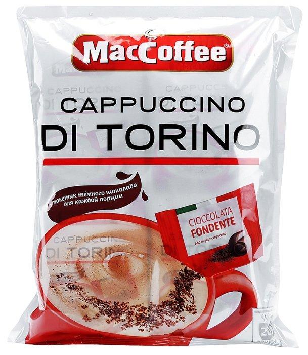 Растворимый кофе MacCoffee Cappuccino di Torino, в пакетиках