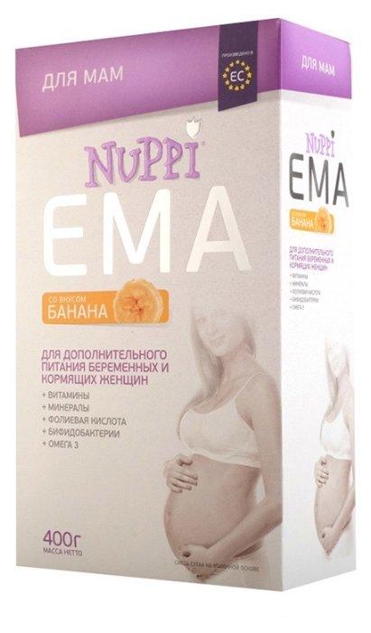 Молочная смесь для мам Nuppi Ema со вкусом банана 400 г