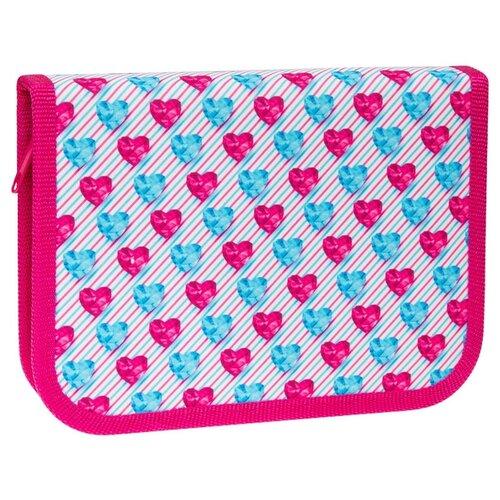 Купить ArtSpace Пенал Diamond heart (ПК4-20_26300) розовый/голубой, Пеналы