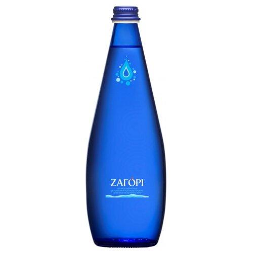 Минеральная вода Zagori газированная, стекло, 0.75 л