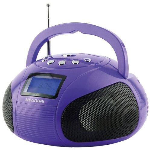 Магнитола Hyundai H-PAS100/H-PAS120 фиолетовый
