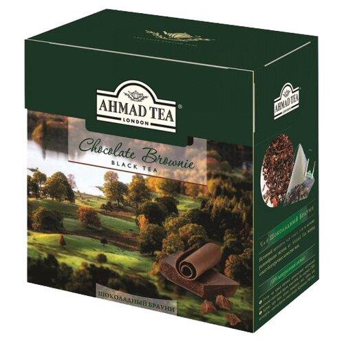 Чай черный Ahmad tea Chocolate brownie в пирамидках, 20 шт.Чай<br>
