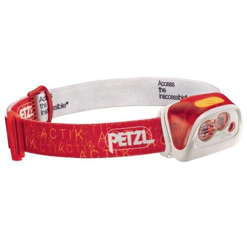 Налобный фонарь Petzl Actik Core красныйФонари<br>