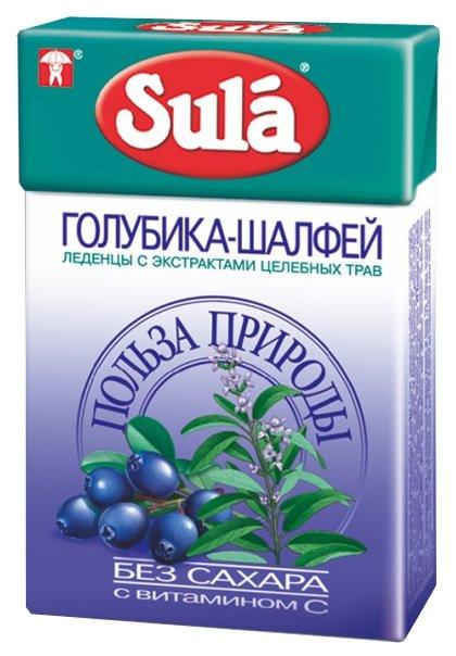 Леденцы Sula Голубика-Шалфей 40 г