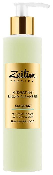 Zeitun сахарный увлажняющий гель для умывания Masdar с гиалуроновой кислотой