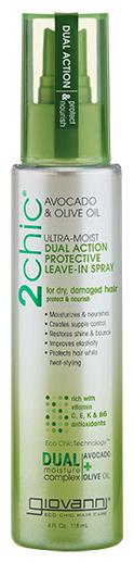 Giovanni 2chic Ultra-Moist Ультраувлажняющий защитный спрей двойного действия для волос
