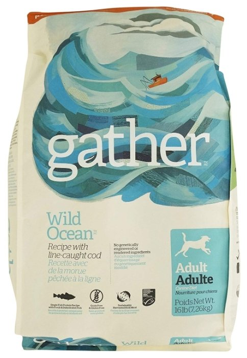 Корм для собак Gather Wild Ocean