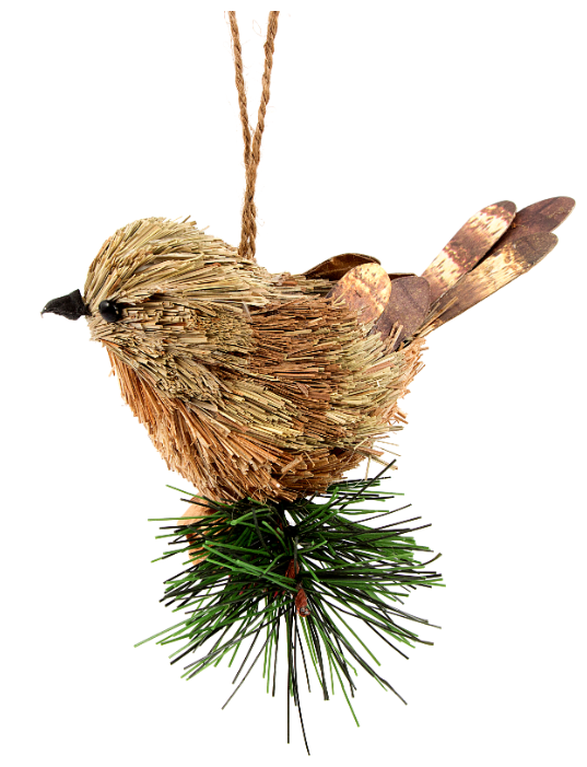 Елочная игрушка Русские подарки Птичка (270620)