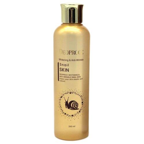 Deoproce Whitening And Anti-Wrinkle Snail Skin Флюид для лица с улиточным экстрактом, 260 мл эссенция для лица с экстрактом ростков баобаба 50мл deoproce musevera