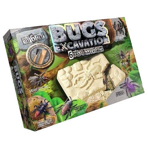 Купить Набор для раскопок Danko Toys Bugs Excavation Насекомые № 1, Наборы для исследований