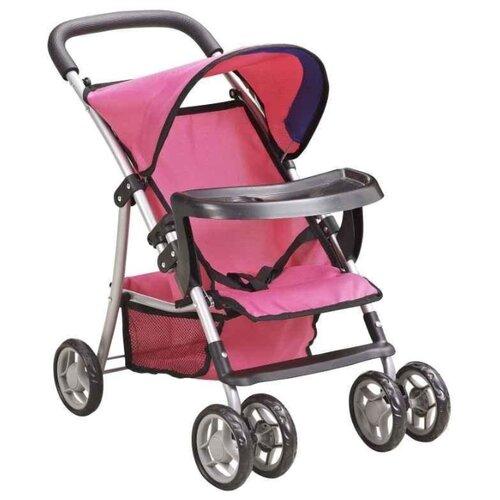 Прогулочная коляска Buggy Boom Skayna (8231) малиновый/синийКоляски для кукол<br>