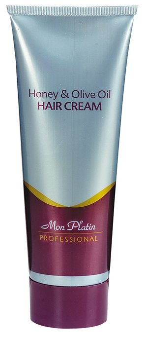 Mon Platin Professional Регенерирующий и заживляющий крем для волос, обогащенный медом и оливковым маслом