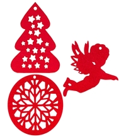 Набор елочных игрушек Feltrica Рождество