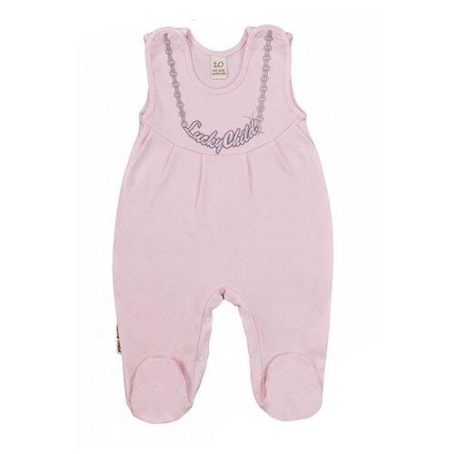 Ползунки lucky child размер 18, розовыйПолзунки<br>