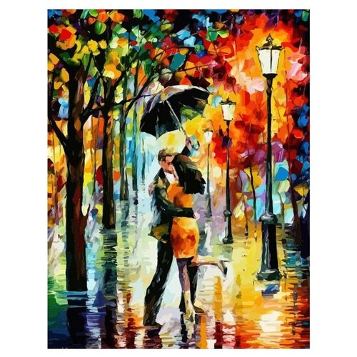 Купить Paintboy Картина по номерам Танец под дождем 40х50 см (GX7569), Картины по номерам и контурам