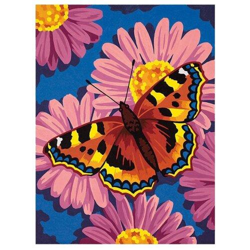 Dimensions Картина по номерам Цветы и бабочки 23х30 см (DMS-91341)Картины по номерам и контурам<br>
