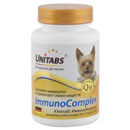 Добавка в корм Unitabs ImmunoComplex для мелких собак 100 шт. добавка в корм unitabs prebiotic для кошек и собак 100 шт