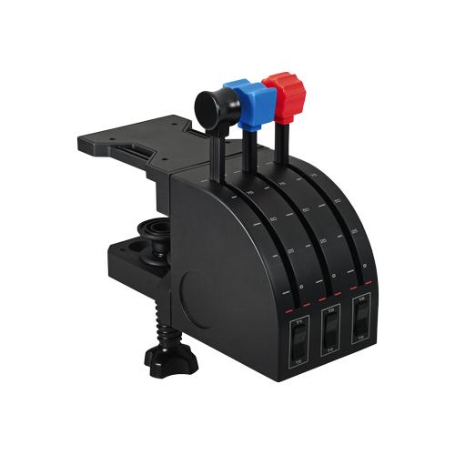 Комплектующие для руля Logitech Flight Throttle Quadrant черный комплектующие