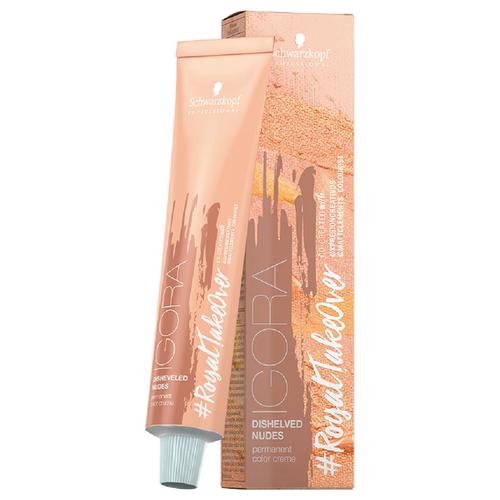 Schwarzkopf Professional Igora Royal Take Over краситель для волос Disheveled Nudes, 60 мл, 9,5-314 светлый блондин матовый сандрэ бежевыйКраска<br>