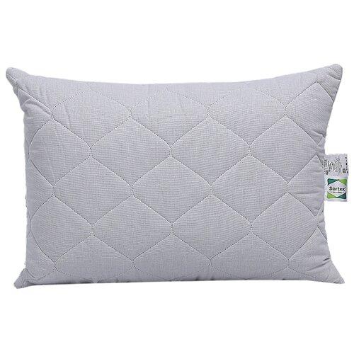 baby nice подушка детская стеганая 40 см х 60 см Подушка Sortex Natura Льняная палитра, стеганая (6л7-522) 48 х 68 см белый