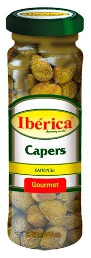 Iberica Каперсы бутоны в маринаде, стеклянная банка 100 г