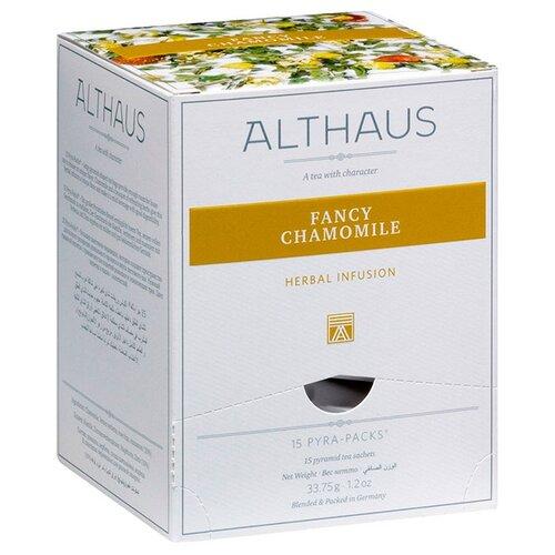 Чай травяной Althaus Fancy Chamomile в пирамидках, 15 шт. чай травяной леторос ромашка целебник в пирамидках 20 шт
