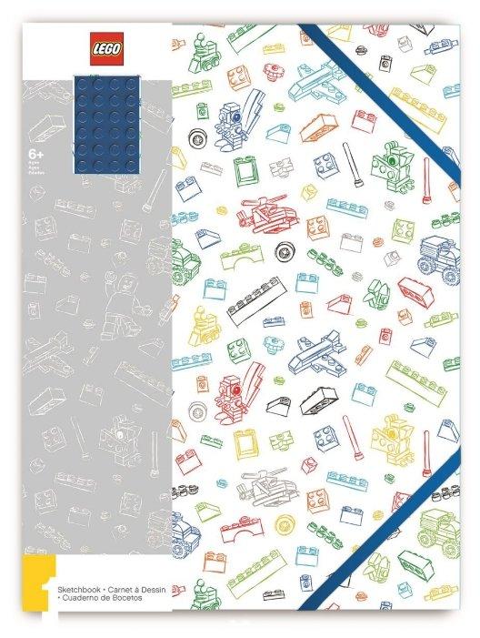 Блокнот LEGO A4 (96 листов), синий