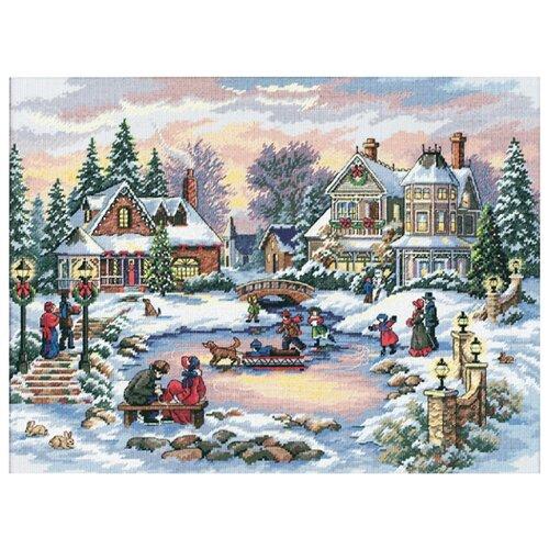 Купить Dimensions Набор для вышивания крестиком Сказочное время 41 х 30 см (08569), Наборы для вышивания