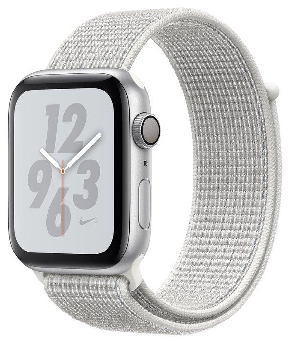 Apple Часы Apple Watch Series 4 GPS 40mm Aluminum Case with Nike Sport Loop