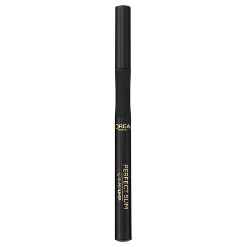 Купить L'Oreal Paris Суперлайнер для глаз Perfect Slim, оттенок черный
