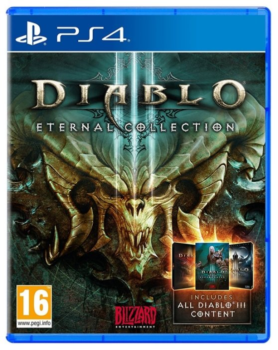Игра Diablo III: Eternal Collection (PS4)