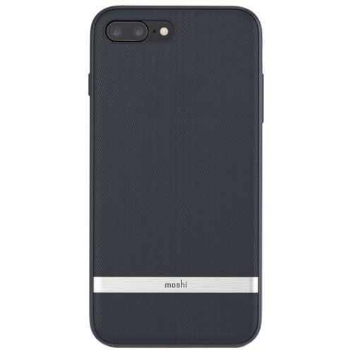 цена на Чехол Moshi Vesta для Apple iPhone 7 Plus/iPhone 8 Plus синие Багамы