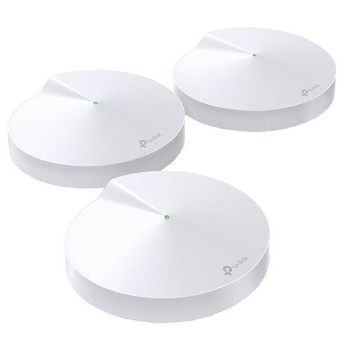 Wi-Fi роутер TP-LINK Deco M9 Plus (3-pack) белый mesh wi fi система tp link deco m9 plus 3 pack